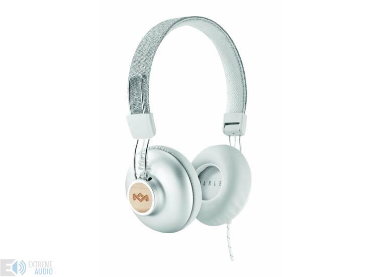 Marley Positive Vibration 2. Silver (EM-JH121-SV) fejhallgató, ezüst