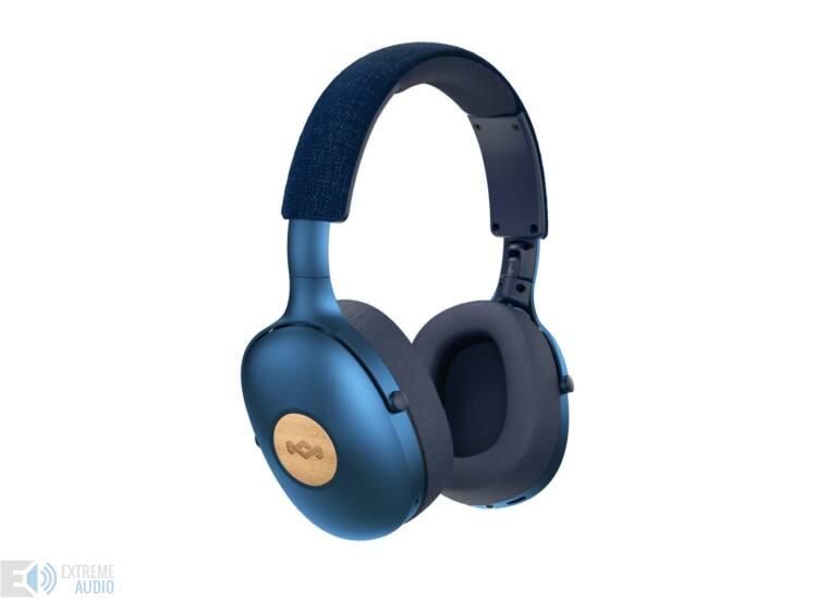 Marley Positive Vibration XL (EM-JH141-BL) Bluetooth fejhallgató, kék