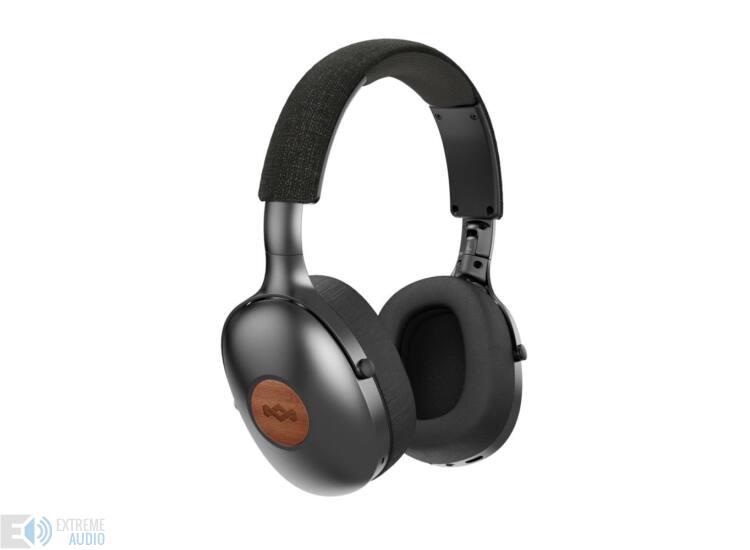 Marley Positive Vibration XL (EM-JH141-SB) Bluetooth fejhallgató, fekete