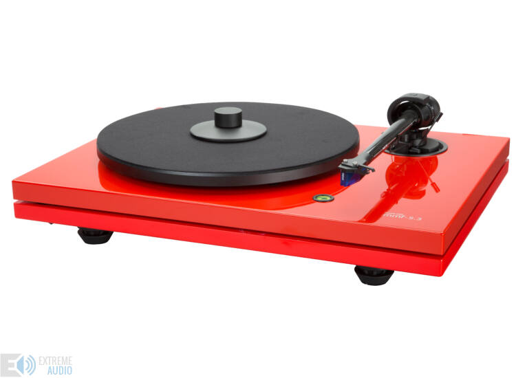 Music Hall MMF-5.3 lemezjátszó, piros