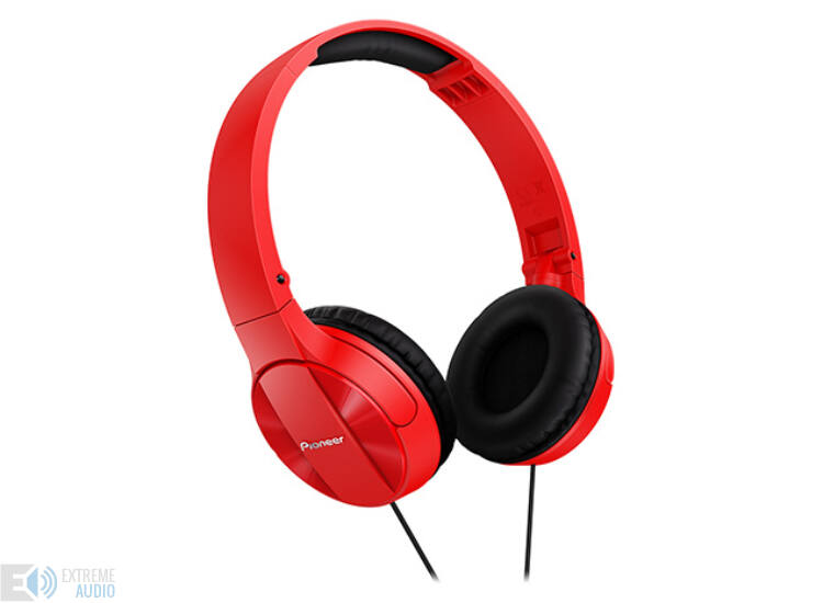 Pioneer SE-MJ503 zárt fejhallgató piros