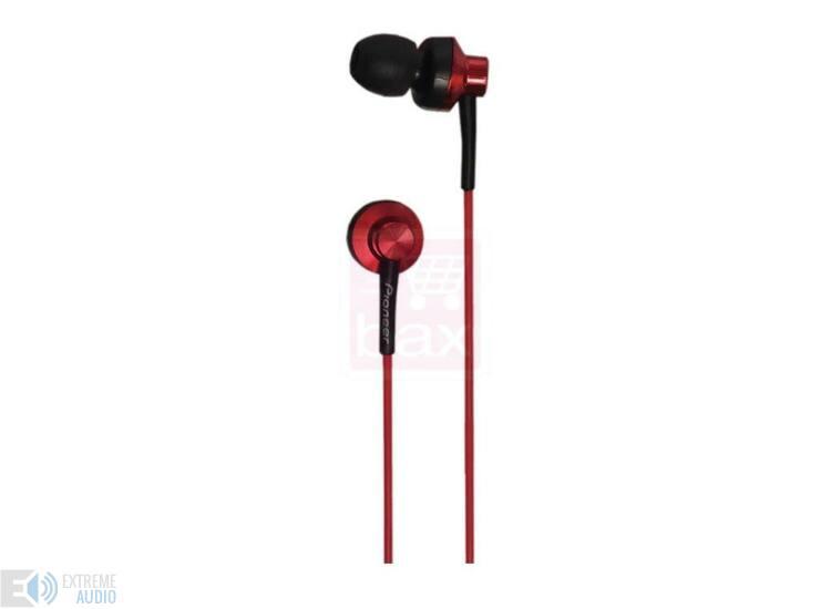 Pioneer SE-CL522 fülhallgató Piros