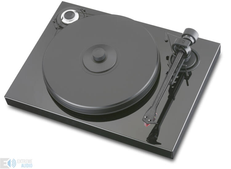 Pro-Ject 2 Xperience Classic analóg lemezjátszó fekete Ortofon 2M-RED MM hangszedővel szerelve
