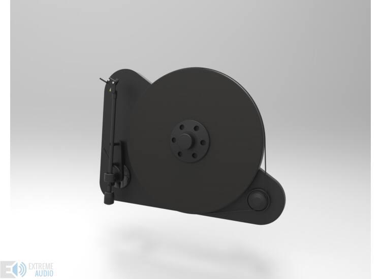 Pro-Ject VT-E L bal kezes analóg lemezjátszó fekete Orofon OM5e hangszedővel szerelve