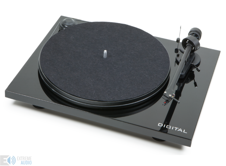Pro-Ject Essential II Digital Phono analóg lemezjátszó Ortofon OM-5e