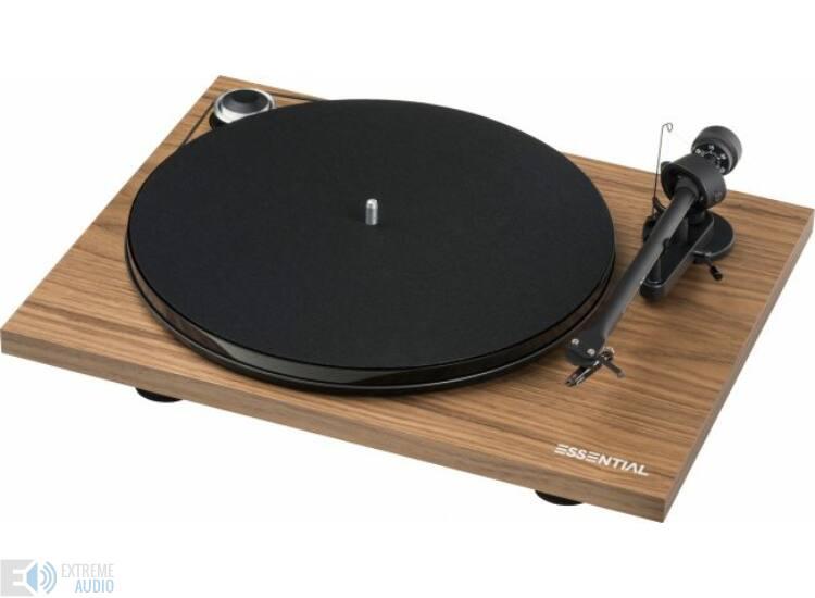 Pro-Ject Essential III Digital analóg lemezjátszó + OM-10 hangszedő, dió (Bemutató darab)