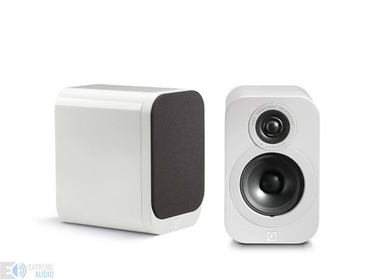 Qacoustics 3010 Állványra/polcra helyezhető hangsugárzó lakk fehér