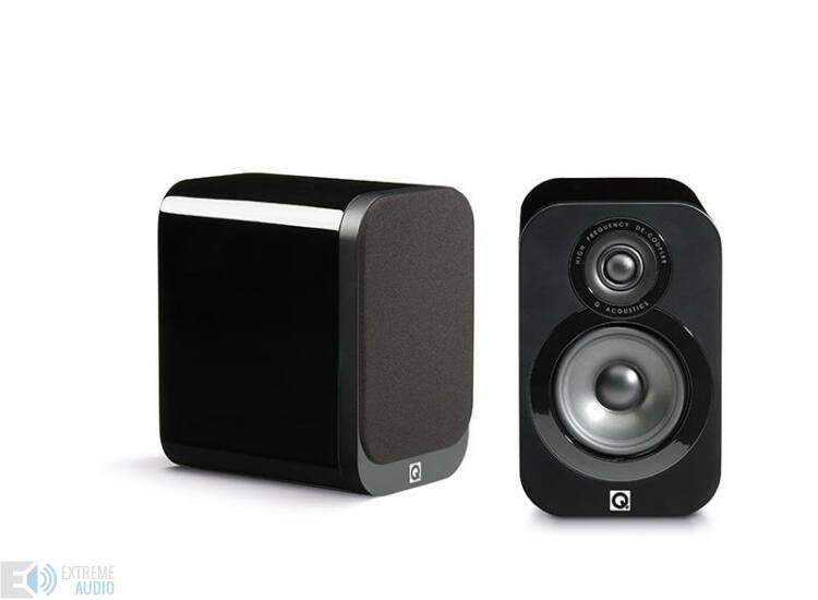 Qacoustics 3010 Állványra/polcra helyezhető hangsugárzó lakk fekete