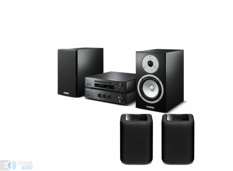 Yamaha MCR-N670 Mikro Hi-Fi + 2db WX-010 MusicCast zóna hangszóró