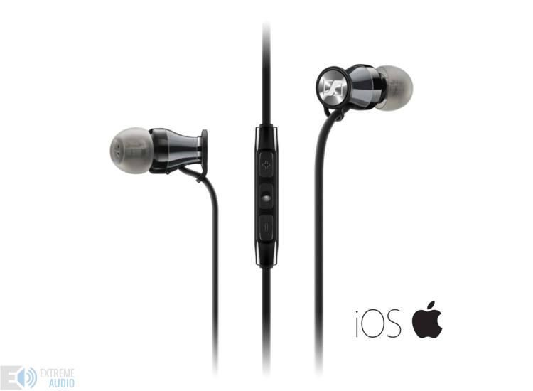 Sennheiser Momentum In-Ear fülhallgató iOS (M2 Iei), króm