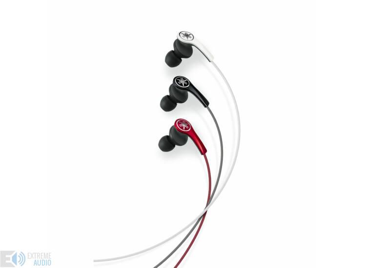 Yamaha EPH-M200 fülhallgató, piros (Bemutató darab)