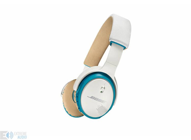 Bose SoundLink On-ear, fülre illeszkedő Bluetooth fejhallgató, fehér