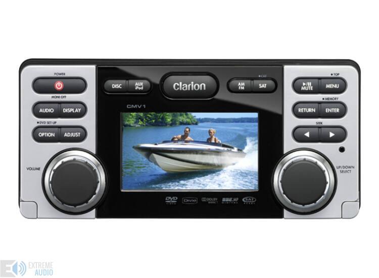 Clarion CMV 1 marine DVD/CD/USB médialejátszó