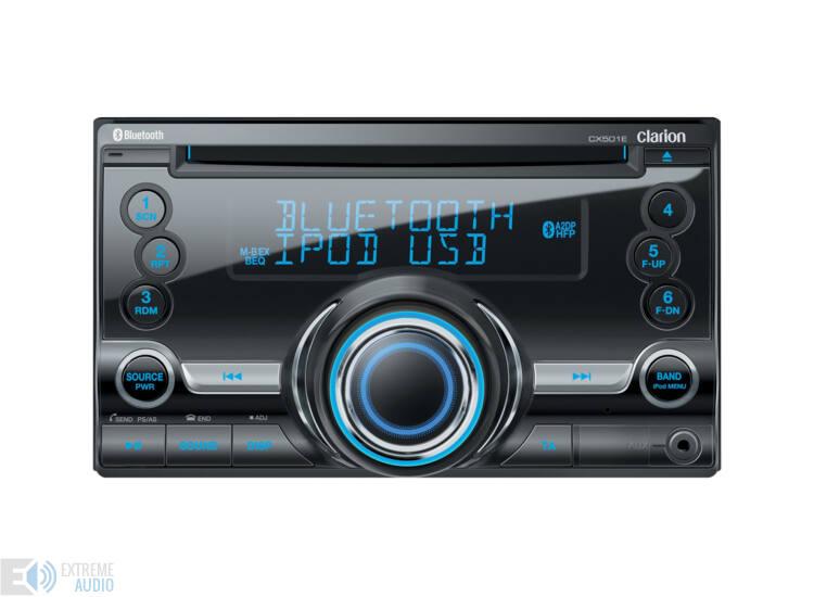 Clarion CX 501E 2 DIN-es autórádió