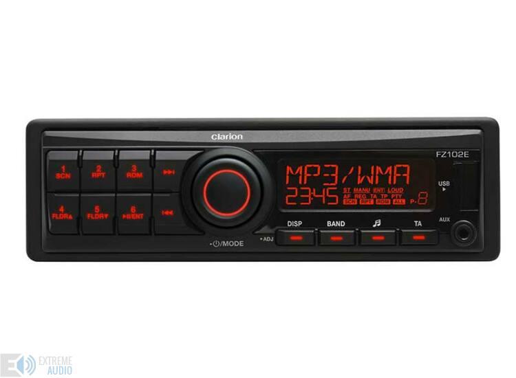 Clarion FZ 102E CD nélküli autórádió