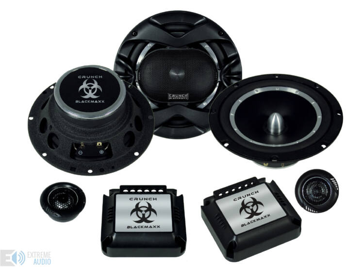 Crunch Blackmaxx MXB 6.2c hangszóró szett