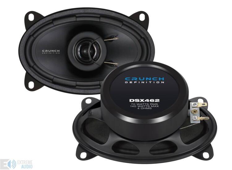 Crunch DSX-462 ovál hangszóró