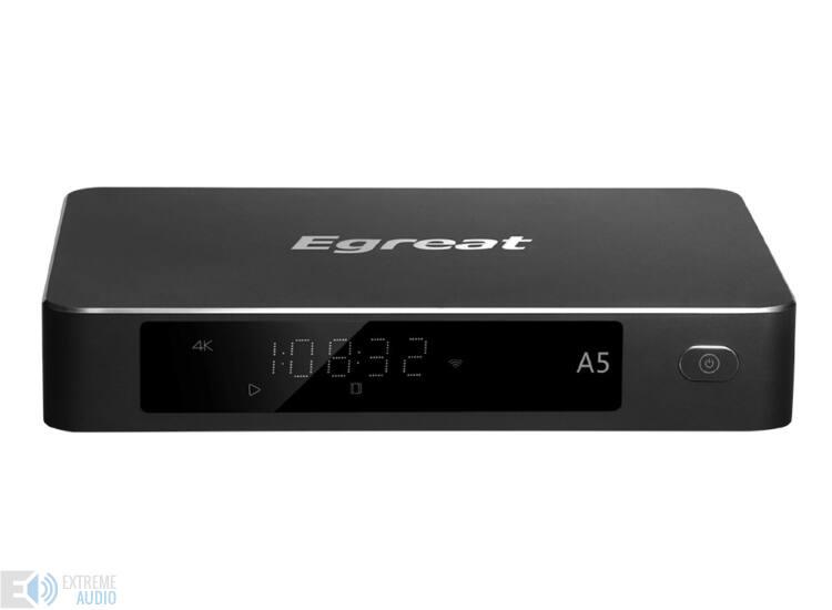 Egreat A5 4K, HDR médialejátszó (Bemutató darab)