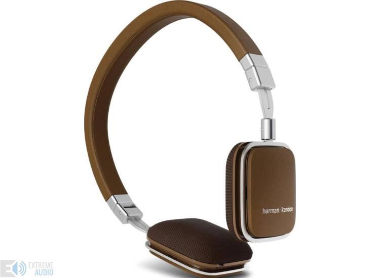 Harman Kardon Soho iPhone vezérlős fejhallgató, barna
