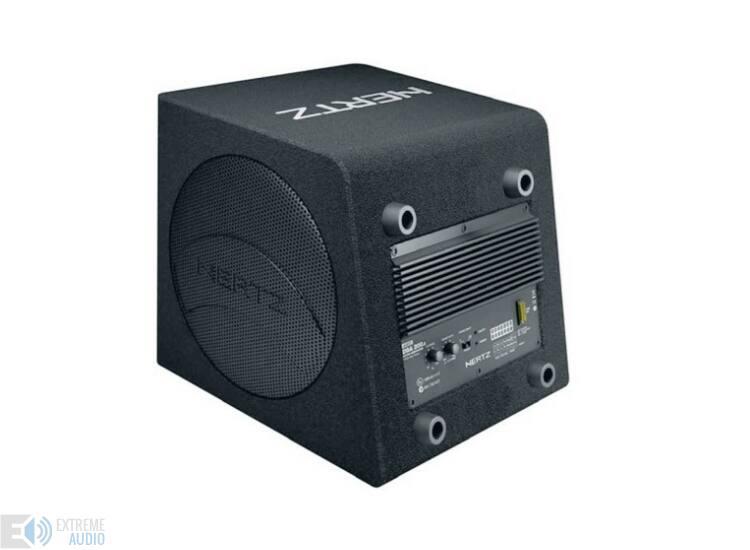 Hertz DBA 200.3 Erősitővel egybeépitett mélynyomó láda
