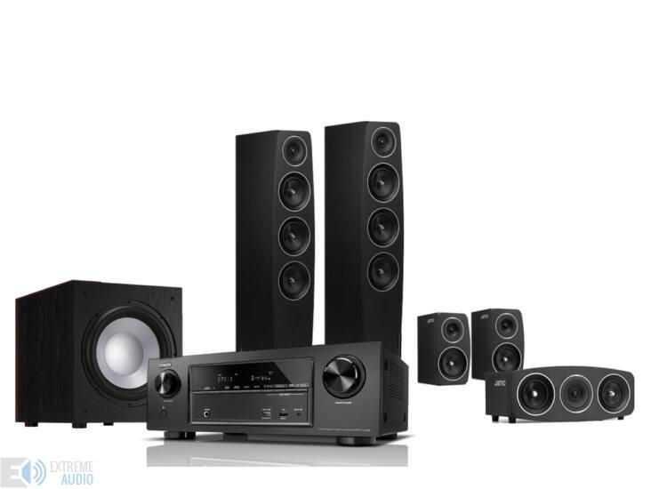 Denon AVR-X1300 + Jamo C97 fekete 5.1 házimozi szett