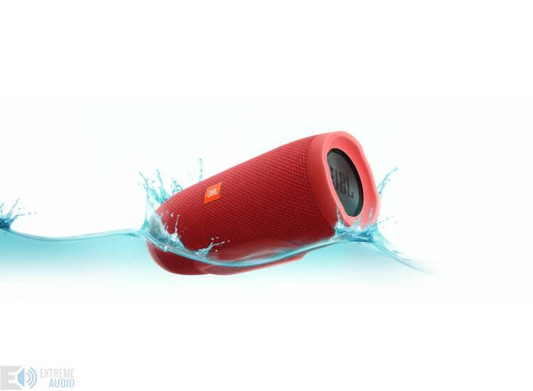 JBL Charge 3 vízálló, Bluetooth hangszóró piros