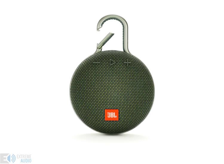 JBL Clip 3 vízálló Bluetooth hangszóró (Forest Green) zöld