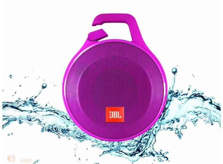 JBL Clip+ vízálló bluetooth hangszóró, pink