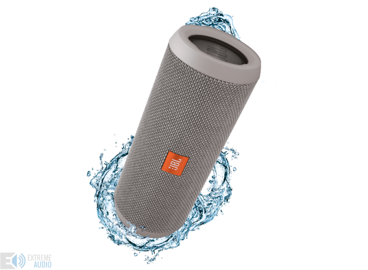 JBL Flip 3 vízálló bluetooth hangszóró, szürke