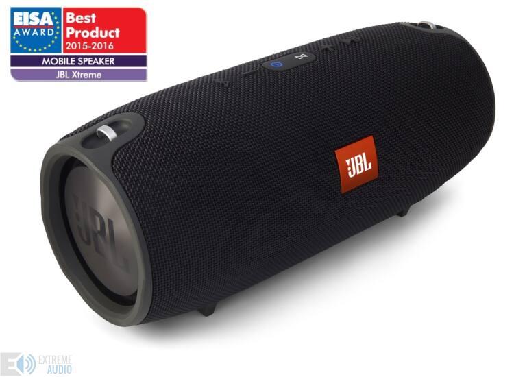 JBL Xtreme vízálló bluetooth hangszóró, fekete (Bemutató darab)