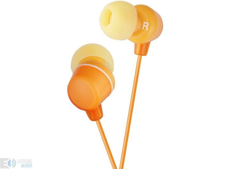 JVC HA-FX23 CLEAR COLOUR MINI fülhallható, narancs