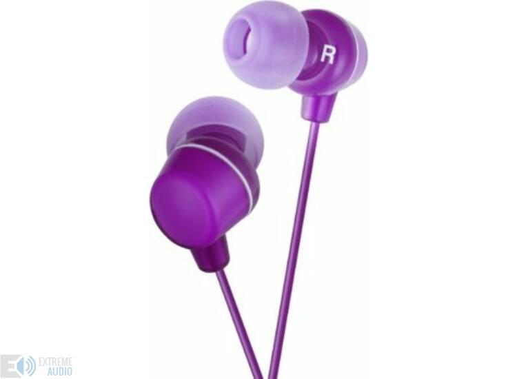 JVC HA-FX23 CLEAR COLOUR MINI fülhallható, lila