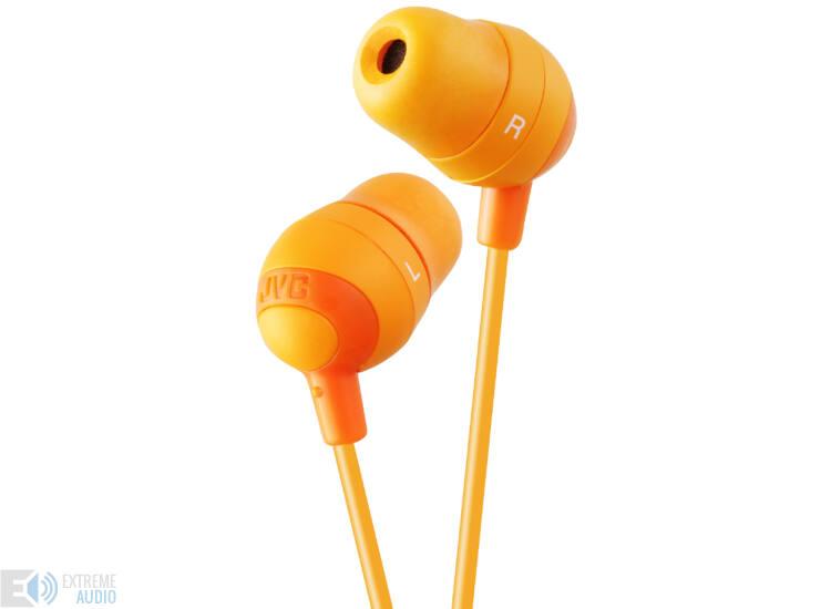 JVC HA-FX32 MARSCHMALLOW PRO fülhallható, narancs