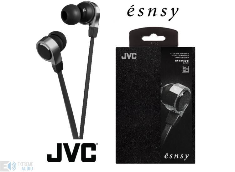 JVC HA-FX45S-W ÉSNSY FASHION fülhallgató, fehér