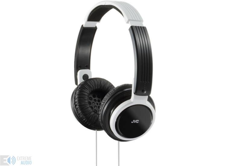 JVC HA-S200 SZUPERKÖNNYŰ fejhallgató, fehér