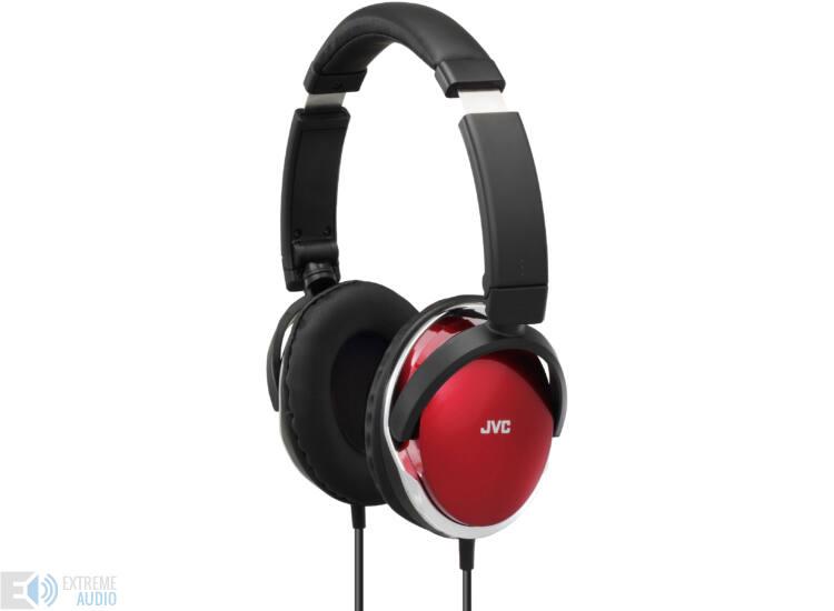 JVC HA-S660 CRYSTAL BASS SOUND fejhallgató, piros