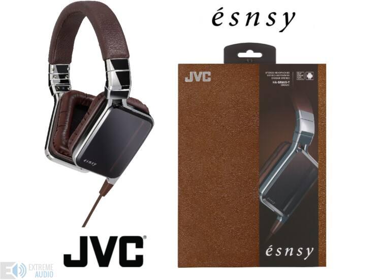JVC HA-SR85S-T ÉSNSY FASHION MOBIL PRO fejhallgató, barna