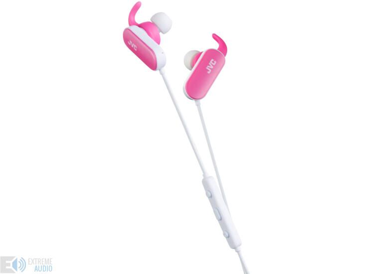 JVC HA-EBT5P Bluetooth-os Sport fülhallgató, rózsaszín