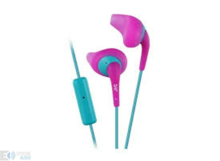 JVC HA-ENR15P Gumy Sport mikrofonos fülhallgató pink