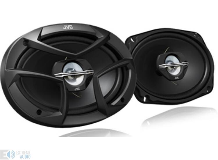 JVC CS-J6930 16x24cm-es nagy ovál autó hangszóró pár koax
