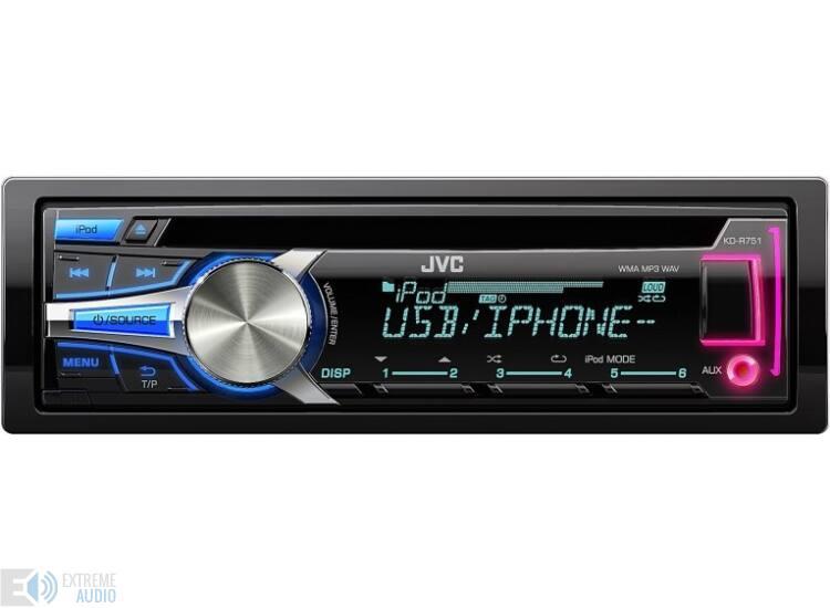 JVC KD-R751 MP3/CD/USB-s fejegység