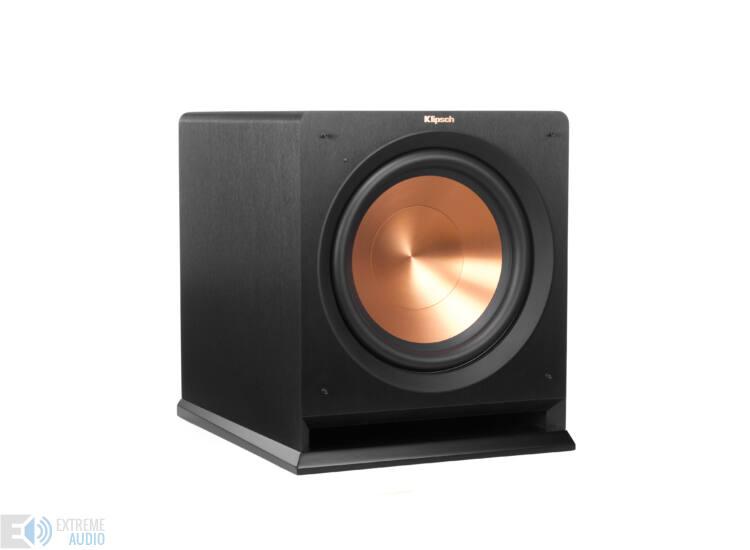 Klipsch R-112SW mélysugárzó, fekete