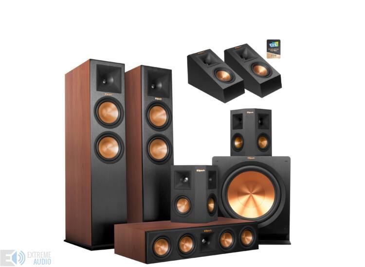 Klipsch RP-280F 5.1.2 Dolby Atmos szett (Klipsch RP-140 SA) cseresznye