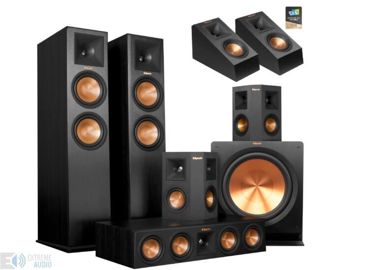 Klipsch RP-280F 5.1.2 Dolby Atmos szett (Klipsch RP-140 SA)