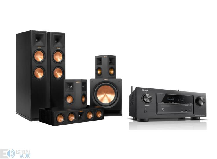 KLIPSCH RP-280FA 5.2.1 + DENON AVR-X3300 Dolby Atmos szett
