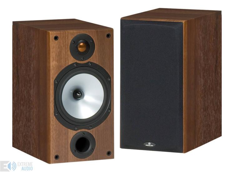 Monitor Audio MR2 hangfal pár sötét dió
