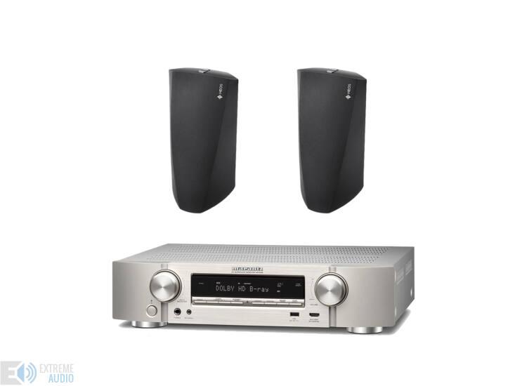 Marantz NR1608 ezüst + 2db Denon HEOS 3 HS2 hangsugárzó szett