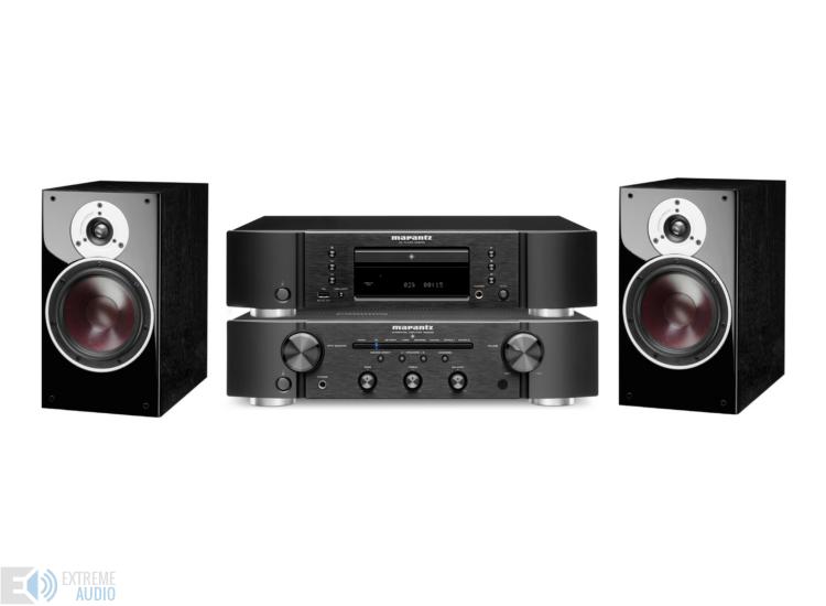 Marantz PM6006 és CD6006 + Dali Zensor 3 fekete sztereó szett