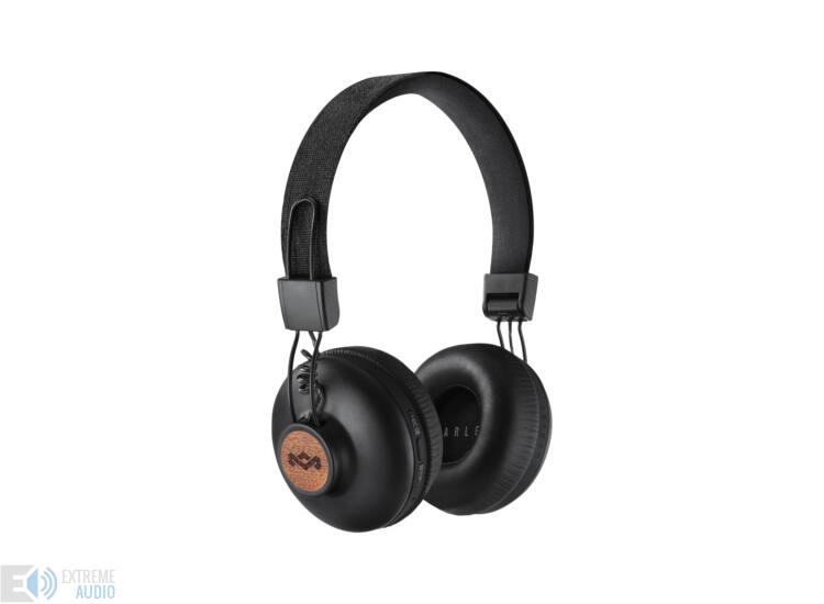 Marley Positive Vibration 2 (EM-JH133-SB) Bluetooth fejhallgató, fekete