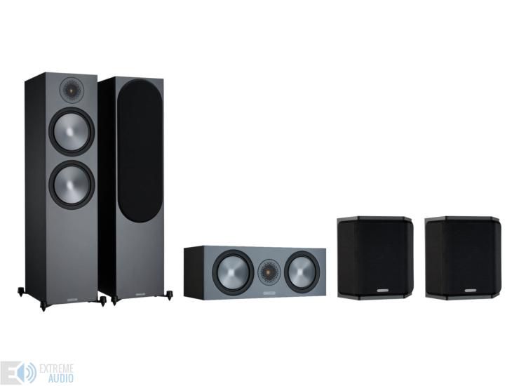 Monitor Audio Bronze 500 5.0 hangfalszett, fekete